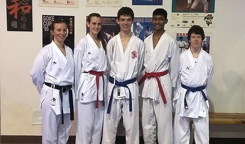 4 ICKF Karate School Students selected to the Ontario Karate Team